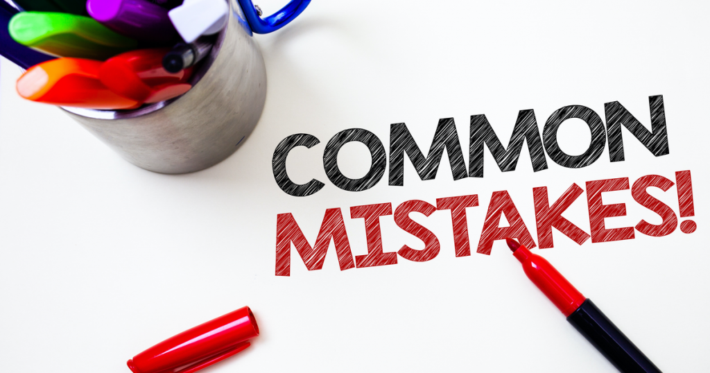 Mistakes in ACA filing